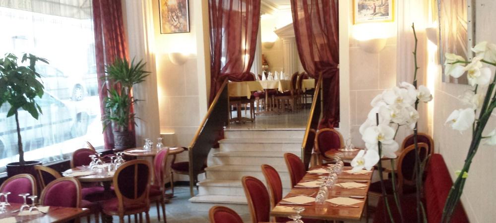 Restaurant Montmartre Les Ambassades salle principale