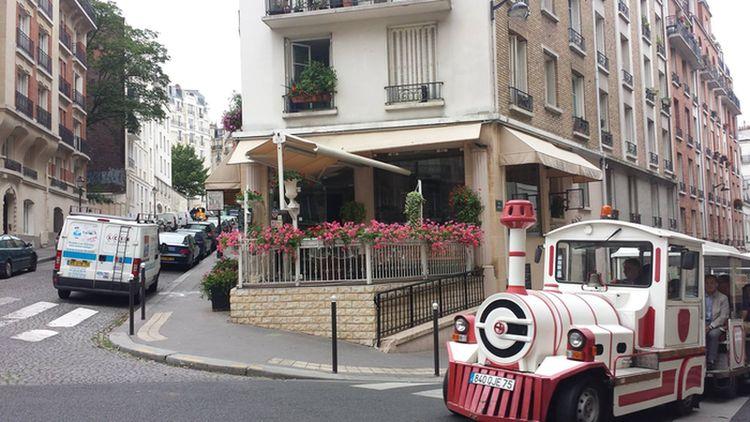 Restaurant terrasse Butte Montmartre