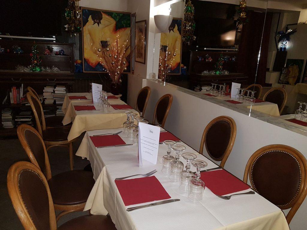 Salon restaurant Butte Montmartre Les Ambassades - Privatisation avec réservation