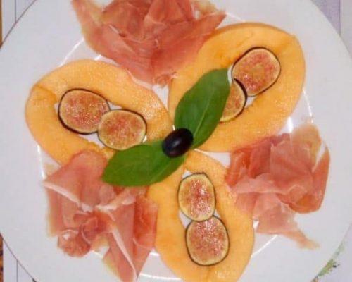 Restaurant Paris 18e jambon melon figues fraîches