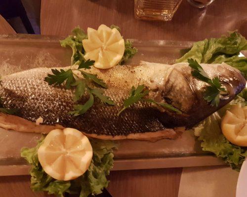 Restaurant Paris 18e cuisine produits frais poisson