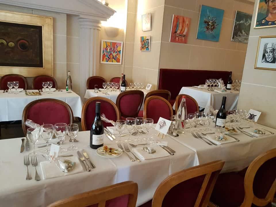 Restaurant groupe Paris 18e association, entreprise, événement privé