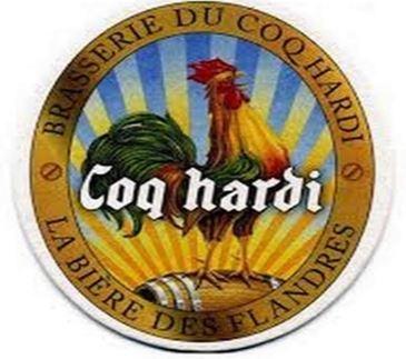 Rond de bière Coq Hardi