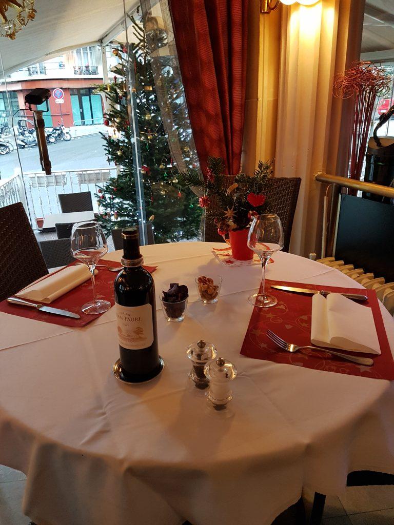 Réveillon restaurant Butte Montmartre