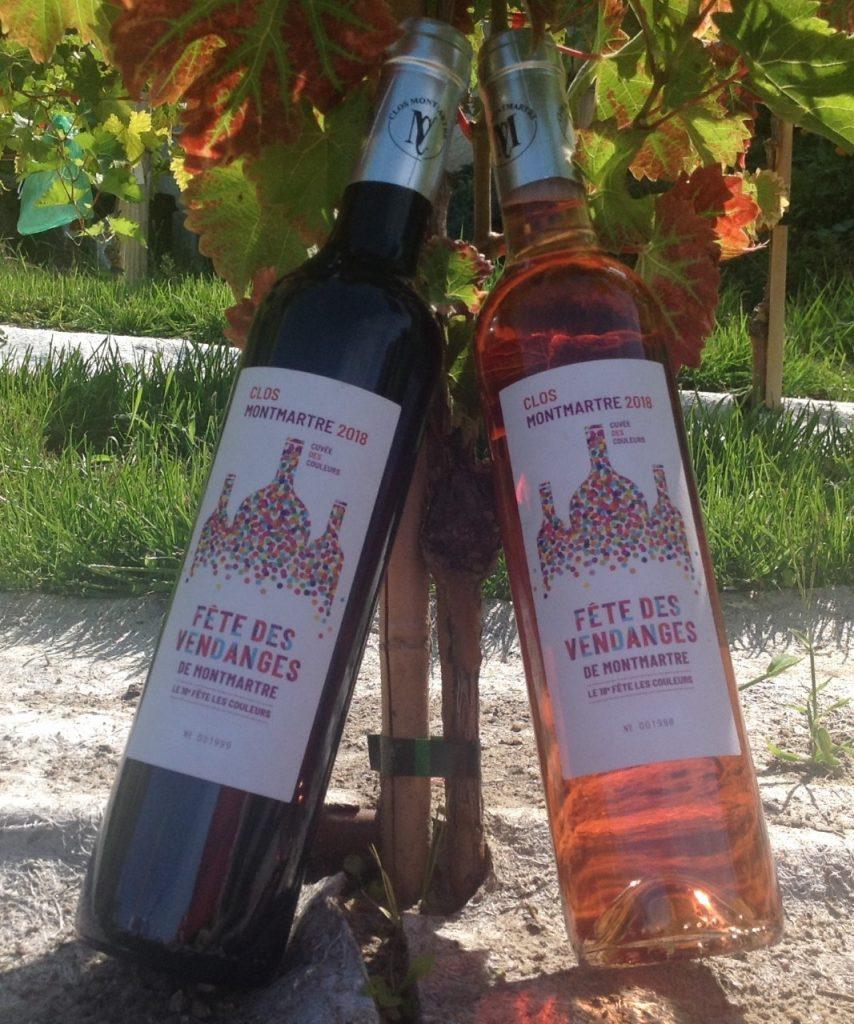 Dégustation vin de Montmartre bar restaurant Butte Montmartre Les Ambassades - Fête des Vendanges 2019
