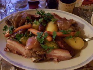 Choucroute au Riesling restaurant Butte Montmartre Les Ambassades