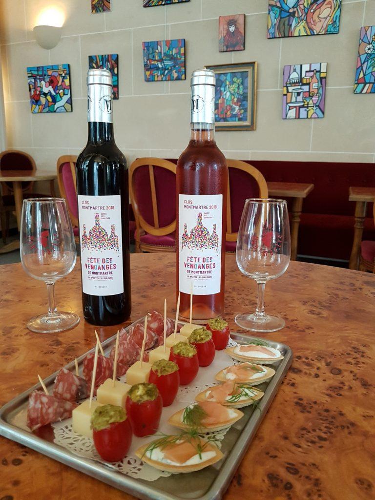 Dégustation vin de Montmartre pendant la Fête des Vendanges de Montmartre 2019