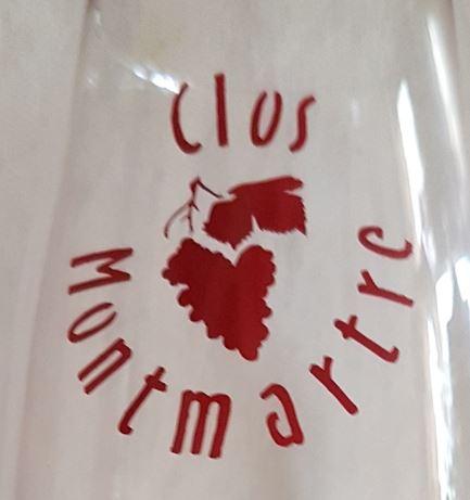 Gravure sur verre Vin Montmartre