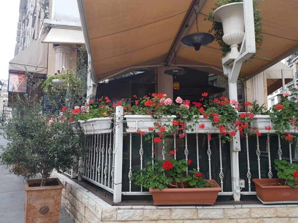 Restaurant Montmartre terrasse bar brasserie avec happy hour