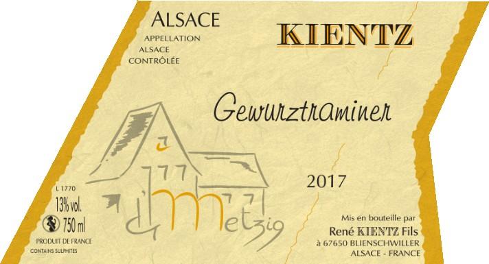 Gewurztraminer, dégustation vins d'alsace Butte Monmartre