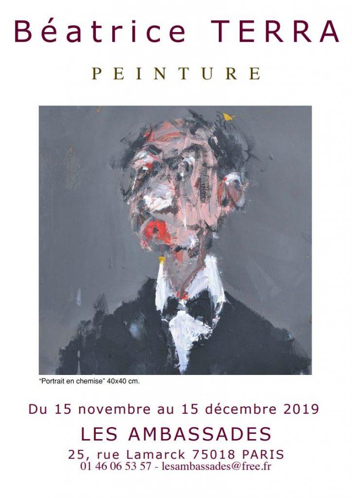 Exposition peinture Montmartre - Restaurant Butte Montmartre Paris 18 Les Ambassades