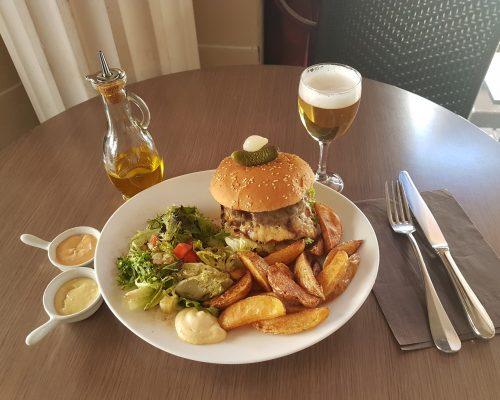 Hamburger à emporter Paris 18