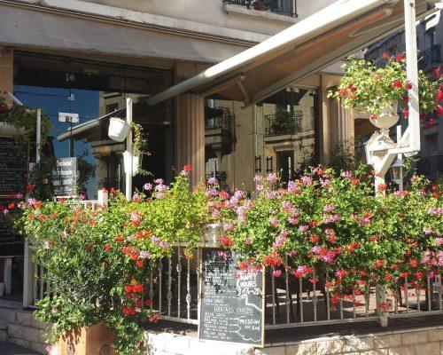 Terrasse restaurant Paris 18 plats à emporter